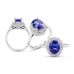 Pedro Da Silva's Engagement Ring and Wedding Band Selection